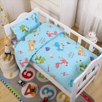 君别幼儿园被子三件套单品儿童午睡小被子春秋厚棉花被芯宝宝床品