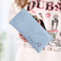 钱包女长款韩版潮学生小清新女士拉链手拿包个性可爱钱夹