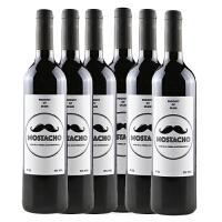 西班牙原装进口胡子(酩特)干红葡萄酒750ML*6 整箱装