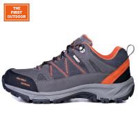 美国第一户外登山鞋徒步鞋男女款防水低帮冬季户外鞋