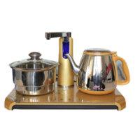 创盛 CS-1028土豪金电茶炉套装 电热水壶 自动上水泡茶壶炉