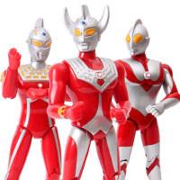 奥特曼 男孩大号变形咸蛋超人玩具套装泰罗赛文迪迦可动人偶正版