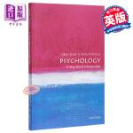 【中商原版】心理学(牛津通识读本) 英文原版 心理学 Psychology: A Very Short Introdu