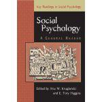 【预订】Social Psychology: A General Reader 9780863776946