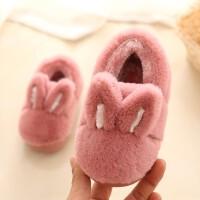 室内鞋儿童 宝宝棉拖鞋1-3岁季男童女可爱包跟棉鞋保暖