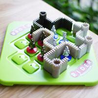 小乖蛋 蓝骑士 儿童智力益智玩具 空间逻辑思维推理训练烧脑游戏