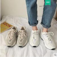 新款韩版帆布鞋复古港风小白鞋子女百搭学生平底运动板鞋
