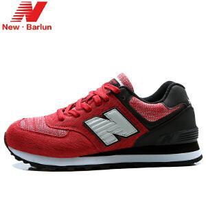 纽巴伦 374新款韩版男女休闲跑步鞋 复古时尚男鞋女鞋情侣运动鞋流星雨系列