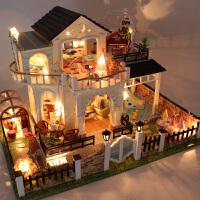 花好月圆女孩玩具娃娃屋儿童过家家女生创意生日礼物