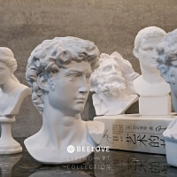 客厅欧式人物摆件现代简约大卫雕像小型石膏树脂桌面装饰雕塑维纳斯摆件拍照道具