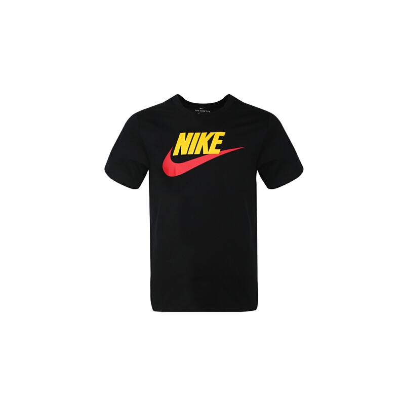 Nike耐克2019年新款男短袖潮流休闲宽松舒适运动T恤AR5005-013 秋装尚新 潮品来袭 正品保证