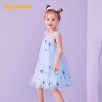 巴拉巴拉童装女童裙子小童宝宝夏季公主裙儿童连衣裙纱裙