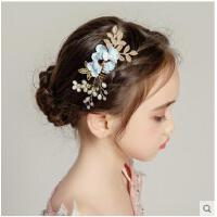 �l梳��A�l�A�l�女童女孩�Y服配�舞�_演出花童皇冠�品�和��^�