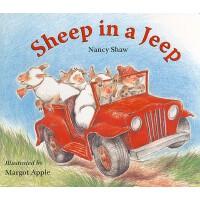 【预订】Sheep in a Jeep 9780547237756