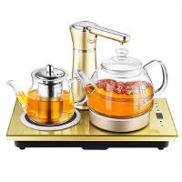 Chigo/志高 自动上水电热水壶套装 JBL-T3玻璃保温烧水壶煮茶器 高硼硅玻璃 台嵌两用电热水壶套装