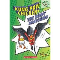 【现货】英文原版 宫保神鸡3:捕鸟者 The Birdy Snatchers 4-8岁漫画书 9780545610681