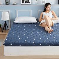 羊毛床垫软垫加厚保暖 羊毛垫子床垫褥子全棉加厚保暖榻榻米防滑床褥垫被1.5米1.8m床 三角世界(保暖 透气)