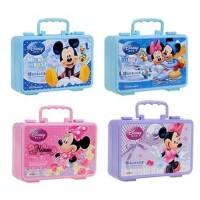 迪士尼米奇米妮18色儿童印章水彩笔套装礼盒环保DM0427-1