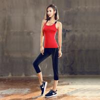 [当当自营]皮尔瑜伽(pieryoga)瑜伽服套装女 跑步运动健身服修身显瘦两件套P81107S+P81702H M