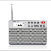熊猫 6207两波段AM.FM收音机插卡便携老年人收音机充电MP3播放器小音箱