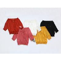 T123特日单品牌夏款客供面料甜美雪纺衫多色