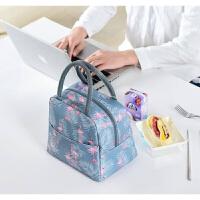加厚铝箔保温袋便当袋帆布大号带饭的手提袋手拎防水饭盒袋保温包