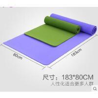 户外 8mm仰卧起坐健身垫防滑愈加垫 TPE瑜伽垫加长加宽80cm无味瑜珈垫