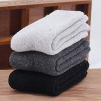时尚羊毛袜子女士冬季加厚加绒超厚睡眠袜特厚中筒棉袜冬天保暖毛巾长