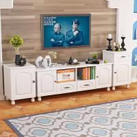 20190403031950367电视柜地中海小户型家具茶几组合北欧实简约现代木脚卧室电视机柜 组装