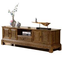 正宗非洲实木家具鸡翅木电视柜中式古典客厅柜卧室影视柜地柜 整装