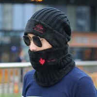 冬季针织毛线帽保暖帽冬天包头帽青年男帽套头帽子男士韩版潮