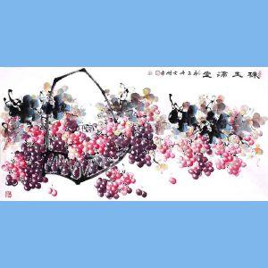 中国青年美术家协会常务理事,中国山水画院专业画家,山东省美术家协会会员,国家一级美术师高云鹏(珠玉满堂)12