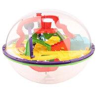爱可优 3D立体迷宫球幻智力球挑战智力 儿童益智玩具球 创意玩具 168关935A
