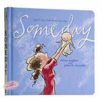 【中商原版】 Someday 有一天 英文原版 安妮宝贝小S推荐 母爱 亲情 感动你我 亲子幼儿绘本 纸板书 耐撕