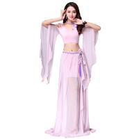 肚皮舞练功服长裙套装 时尚性感裙子演出服装肚皮舞仙女款表演服