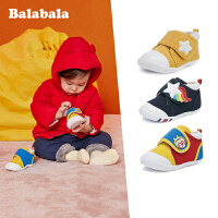 巴拉巴拉宝宝鞋子女1-3岁婴儿鞋子软底男宝宝潮2019新款冬季加绒