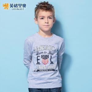 男童秋装长袖上衣T恤纯棉2018新款儿童中大童韩版潮卡通体恤童装