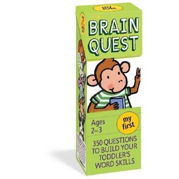 【中商原版】Brain Quest My First, Ages 2-3, Revised 4th儿童智力开发英文原版 低幼组 畅销儿童进口原版