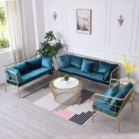 沙发组合现代简约简易工业风网红单人三人办公室 1+2+3+ 其他