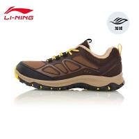 李宁徒步鞋男鞋耐磨防滑保暖户外运动鞋AHTL029