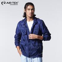AIRTEX亚特防晒透气登山运动户外时尚商务男女皮肤风衣