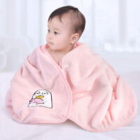 婴儿浴巾比纯棉超柔吸水初生婴幼儿宝宝洗澡新生的儿童盖毯毛巾被