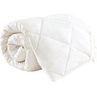 羊毛床垫床褥子 加厚学生宿舍床垫 秋冬加厚保暖单双人软垫被质量媲美慕斯喜临门顾家 白色