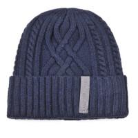 中老年针织毛线帽冬天爷爷帽 老头帽加绒加厚老人帽保暖