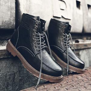 罗兰船长 潮流工装靴