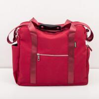 ?手提拉杆包旅行包女拉杆袋男大容量防水行李包登机箱旅行袋? 大
