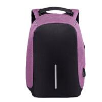 新款防盗包行李背包户外健身包旅行电脑包usb双肩包男中学生书包定制
