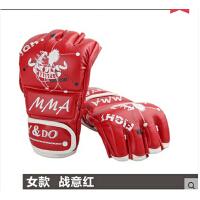 半指全散打格斗MMA拳套UFC跆拳道打沙袋 自由搏击拳击手套