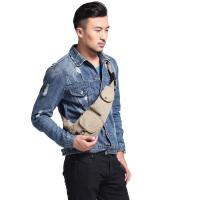 男士胸包单肩包帆布包旅游包休闲包女包