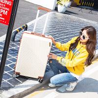 箱子行李箱皮箱拉杆旅行箱万向轮男女24寸密码箱小清新登机箱